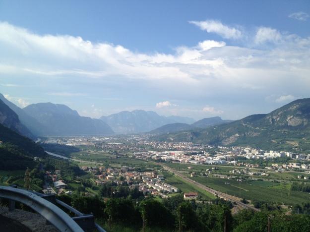 Trento view