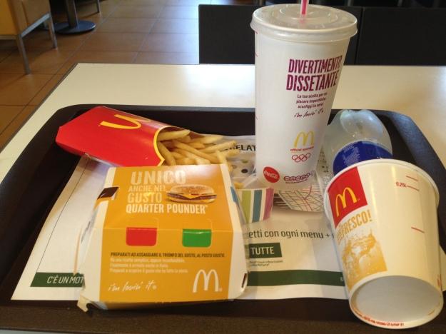 Hit me Ronald