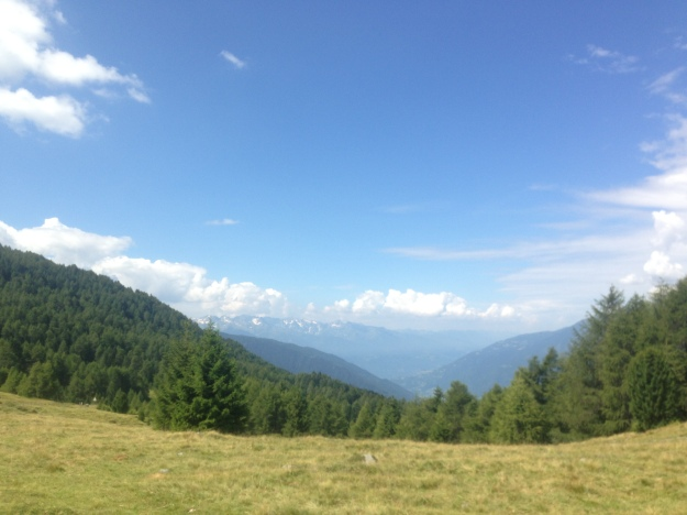 Mortirolo view