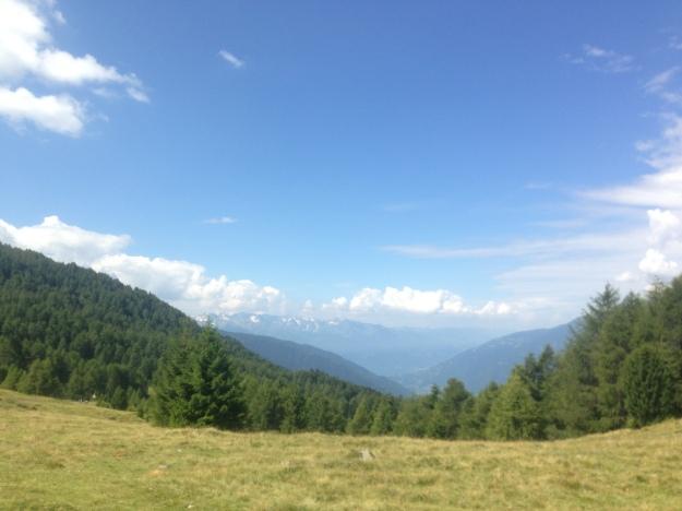 Mortirolo view