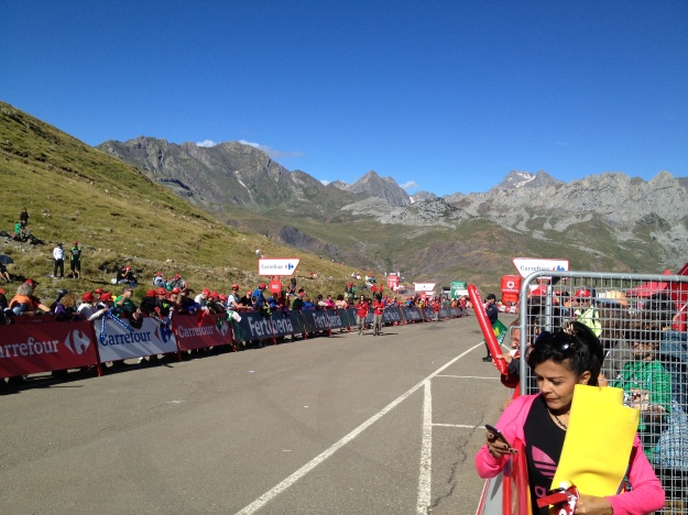 At the 25m to go marker, the photos will be epic