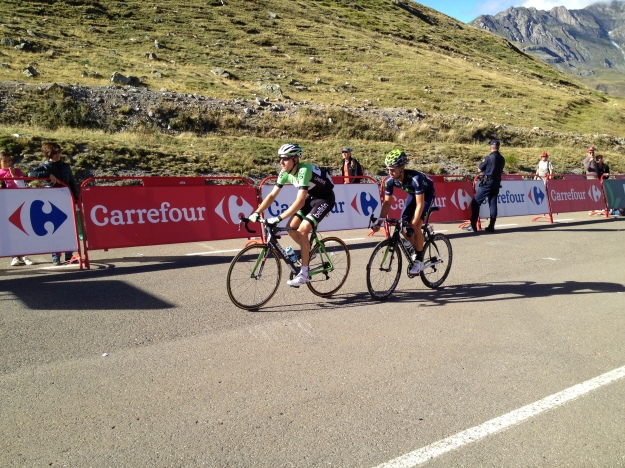 """We're behind the Gruppetto, why take a photo of us?"""