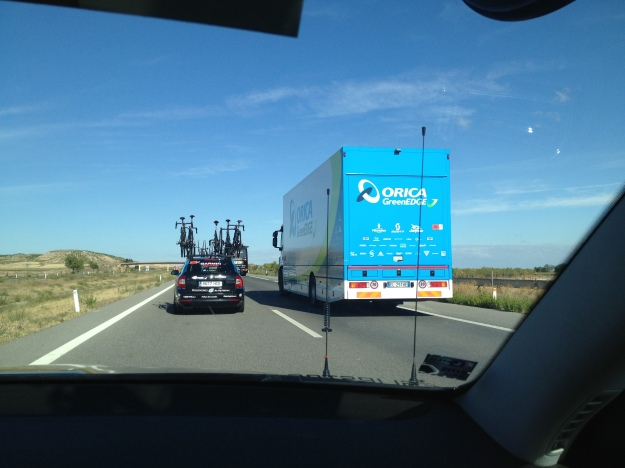 Pro highway domination... Like Mad Max, but with cycling gear