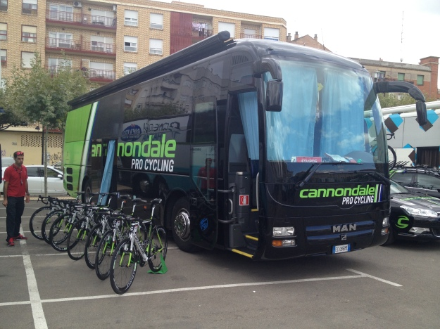 """I ride a Cannondale to!"""