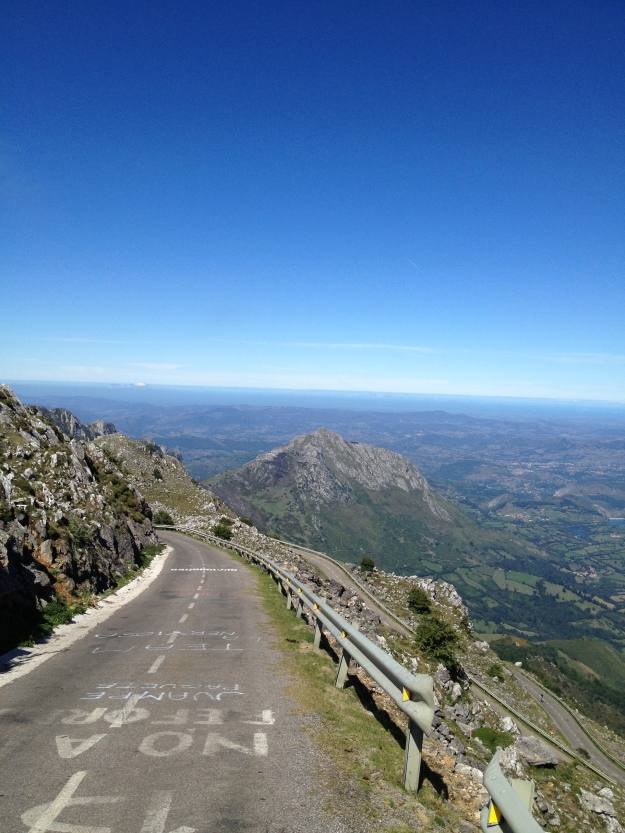A brutal end to an insane road climb