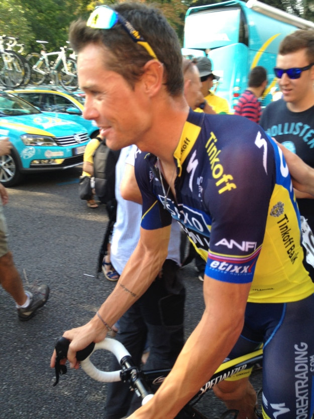 First top 5 in a Grand Tour for Nicholas Roche